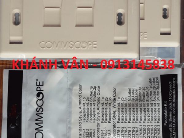 Mặt nạ mạng/ điện thoại/ Faceplate – 2 port